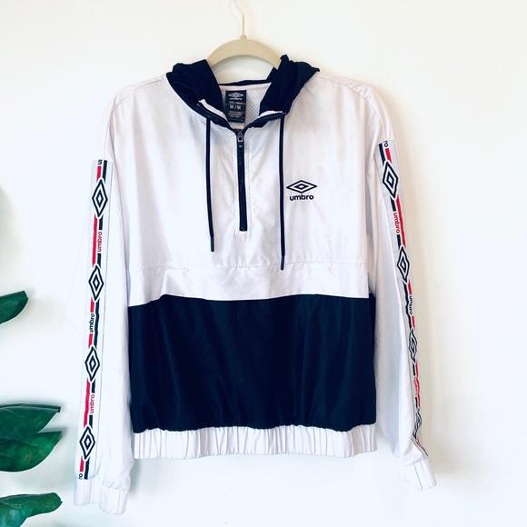 umbro pullover jacket